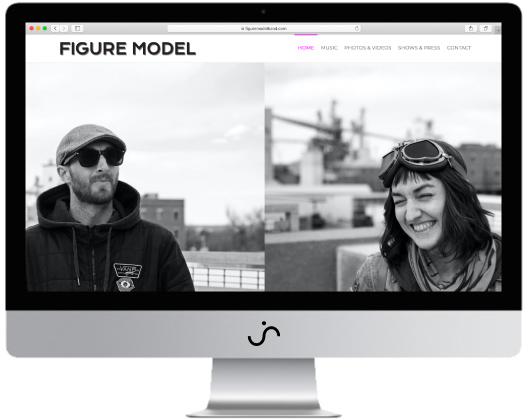 Figure Model Website