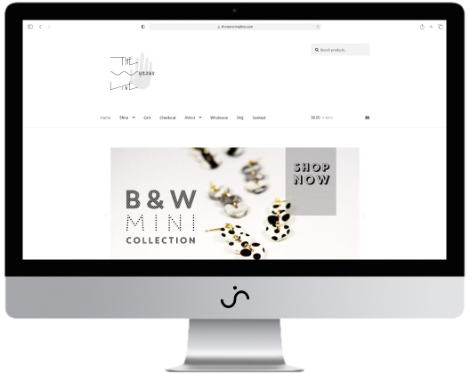 The Wavering Line Website