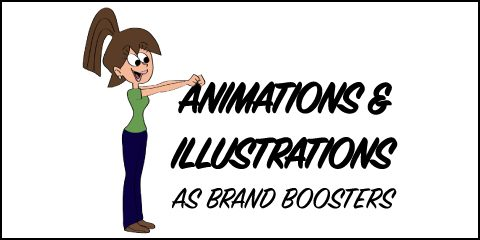Animations and Illustrations as Brand Boosters
